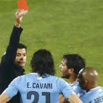 Dua Kartu Merah Membuat Uruguay Harus kalah oleh Cile