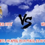 Prediksi Skor Manchester City vs West Bromwich 9 April 2016
