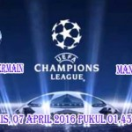 Prediksi Skor Paris Saint Germain vs Manchester City   7 April 2016