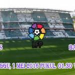 Prediksi Skor Real Betis vs Barcelona 1 Mei 2016