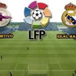 Prediksi Skor Deportivo vs Real Madrid 14 Mei 2016