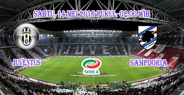 Prediksi Skor Juventus vs Sampdoria 14 Mei 2016