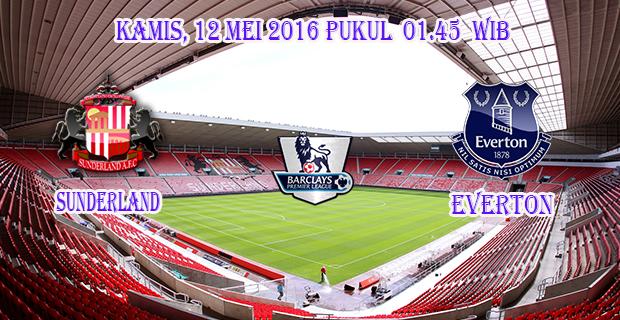 Prediksi Skor Sunderland vs Everton 12 Mei 2016