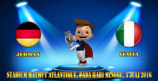 Prediksi Skor Jerman Vs Italia 3 Juli 2016