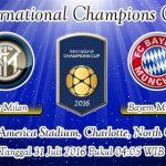 Prediksi Skor Inter Milan Vs Bayern Munchen 31 Juli 2016