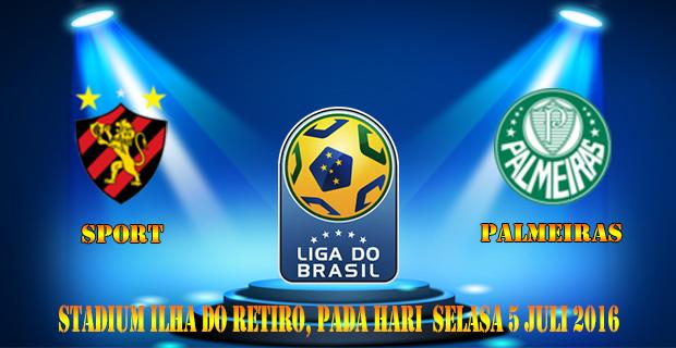 Prediksi Skor Sport Vs Palmeiras 5 Juli 2016