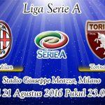 Prediksi Skor AC Milan Vs Torino 21 Agustus 2016