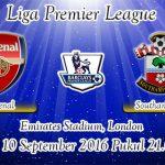 Prediksi Skor Arsenal Vs Southampton 10 September 2016