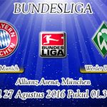 Prediksi Skor Bayern Munchen Vs Werder Bremen 27 Agustus 2016