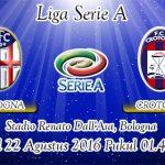 Prediksi Skor Bologna Vs Crotone 22 Agustus 2016