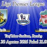 Prediksi Skor Burnley Vs Liverpool 20 Agustus 2016