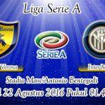 Prediksi Skor Chievo Verona Vs Inter Milan 22 Agustus 2016