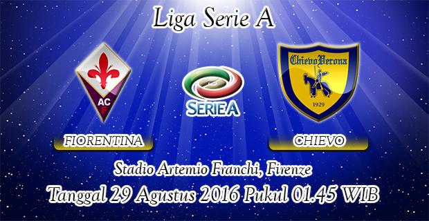 Prediksi Skor Fiorentina Vs Chievo Verona 29 Agustus 2016