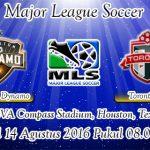 Prediksi Skor Houston Dynamo Vs Toronto FC 14 Agustus 2016