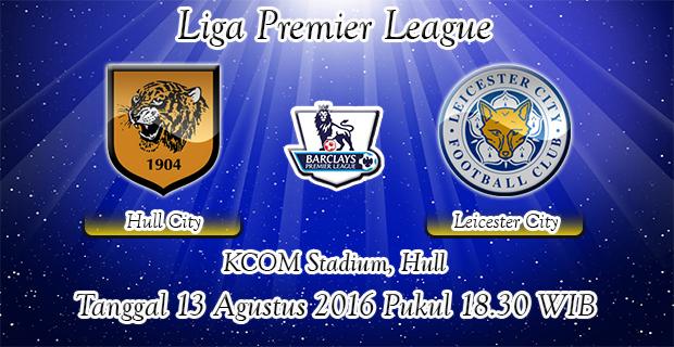Prediksi Skor Hull City Vs Leicester City 13 Agustus 2016