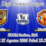 Prediksi Skor Hull City Vs Manchester United 27 Agustus 2016