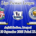 Prediksi Skor Liverpool Vs Leicester City 10 September 2016