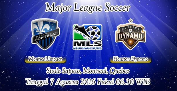 Prediksi Skor Montreal Impact Vs Houston Dynamo 7 Agustus 2016
