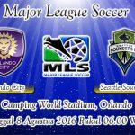 Prediksi Skor Orlando City Vs Seattle Sounders 8 Agustus 2016