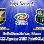 Prediksi Skor Palermo Vs Sassuolo 22 Agustus 2016
