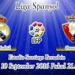 Prediksi Skor Real Madrid Vs Osasuna 10 September 2016