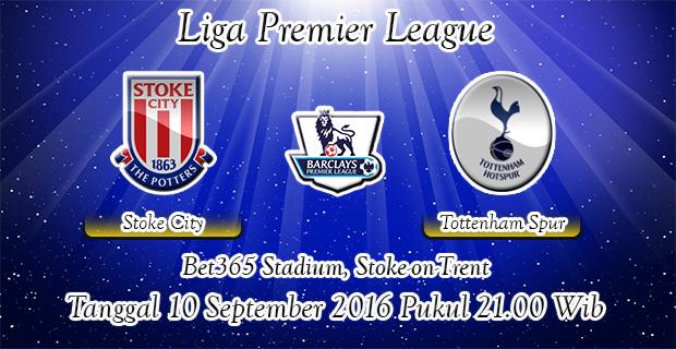 Prediksi Skor Stoke City Vs Tottenham Hotspur 10 September 2016