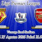 Prediksi Skor Watford Vs Arsenal 27 Agustus 2016