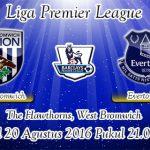 Prediksi Skor West Bromwich Albion Vs Everton 20 Agustus 2016