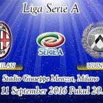 Prediksi Skor AC Milan Vs Udinese 11 September 2016