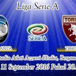 Prediksi Skor Atalanta Vs Torino 11 September 2016