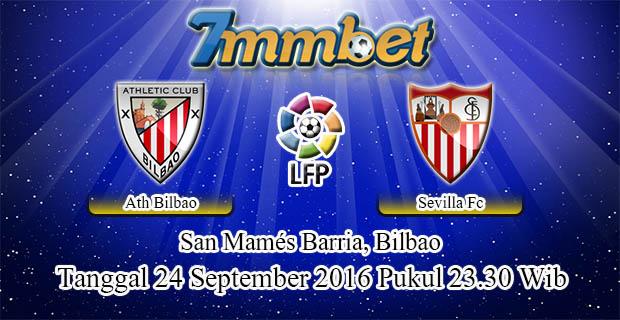 Prediksi Skor Athletic Bilbao Vs Sevilla 24 September 2016