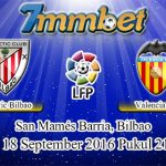 Prediksi Skor Athletic Bilbao Vs Valencia 18 September 2016