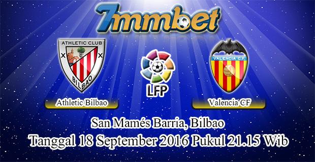 Prediksi Skor Athletic Bilbao Vs Valencia 18 September 2016