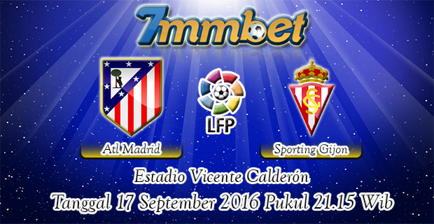 Prediksi Skor Atletico Madrid Vs Sporting Gijon 17 September 2016