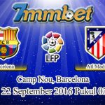 Prediksi Skor Barcelona Vs Atletico Madrid 22 September 2016