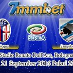 Prediksi Skor Bologna Vs Sampdoria 21 September 2016