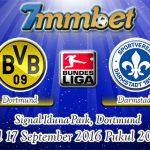 Prediksi Skor Borussia Dortmund Vs Darmstadt 17 September 2016