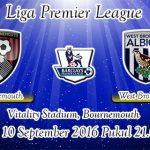Prediksi Skor Bournemouth Vs West Bromwich Albion 10 September 2016