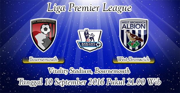Prediksi Skor Bournemouth Vs West Bromwich Albion 10 September 2016