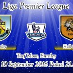 Prediksi Skor Burnley Vs Hull City 10 September 2016