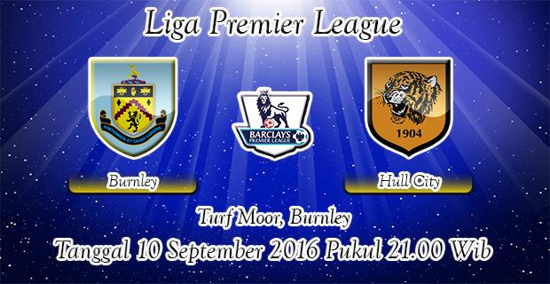 Prediksi Skor Burnley Vs Hull City 10 September 2016