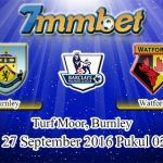 Prediksi Skor Burnley Vs Watford 27 September 2016