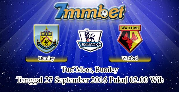 Prediksi Skor Burnley Vs Watford 27 September 2016