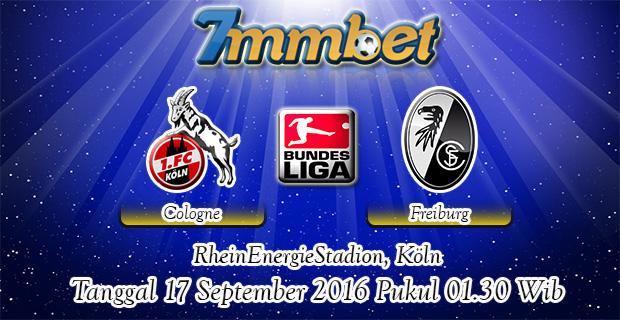 Prediksi Skor Cologne Vs Freiburg 17 September 2016