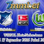 Prediksi Skor Hoffenheim Vs Wolfsburg 17 September 2016