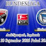 Prediksi Skor Ingolstadt Vs Hertha Berlin 10 September 2016