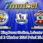 Prediksi Skor Leicester City Vs Southampton 2 Oktober 2016