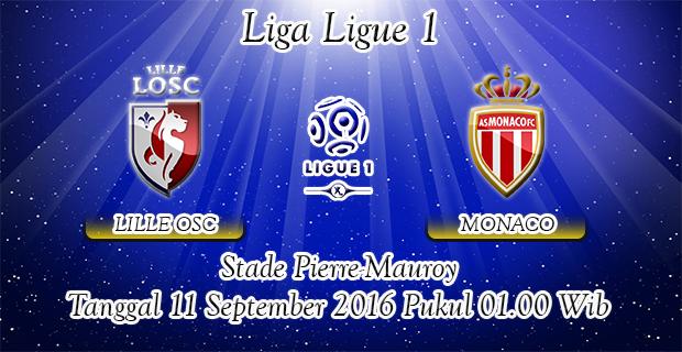 Prediksi Skor Lille Vs Monaco 11 September 2016