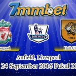 Prediksi Skor Liverpool Vs Hull City 24 September 2016