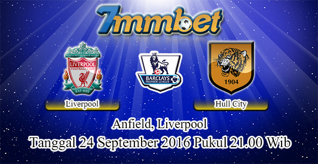 Prediksi Skor Liverpool Vs Hull City 24 September 2016